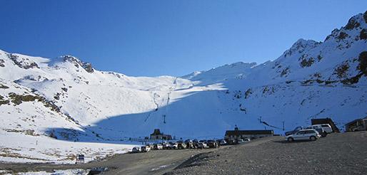 Rainbow ski field